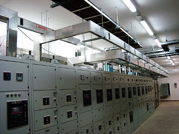 шинопровод на подстанции