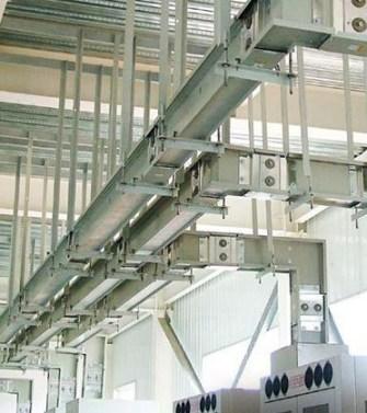 Шинопровод в цеху промышленного предпрития