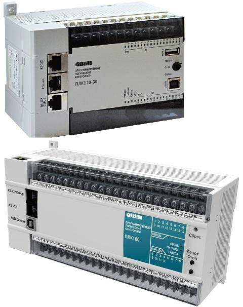 Программируемые логические контроллеры ПЛК110[М02] / ПЛК110 / ПЛК160