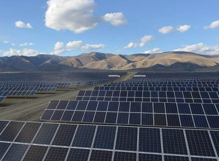 Фотоэлектрическая солнечная электростанция