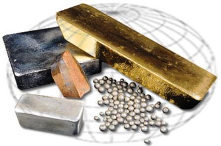 Различные виды металлов