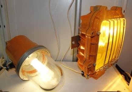 Устройство взрывозащищенных светильников