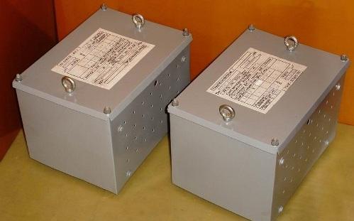 Однофазные трансформаторы
