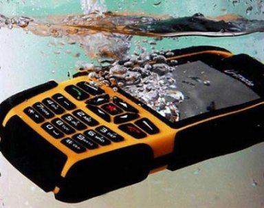 Водоустойчивый, пылезащищенный сотовый телефон