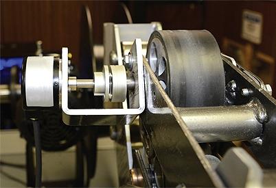 Оптический датчик угла поворота