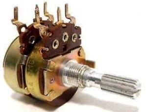 счетверенной переменный резистор