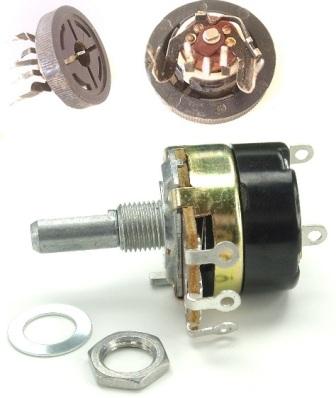 Переменные резисторы сочитающие функции потенциометра и выключателя