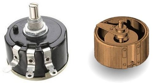 Проволочные переменные резисторы