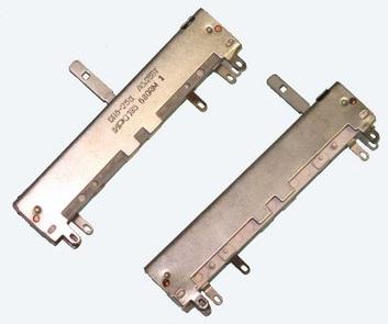 движковые переменные резисторы