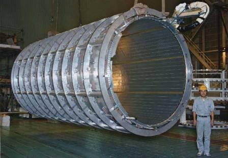 Соленоиды на экспериментальных установках