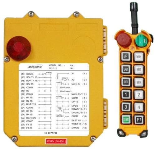 модуль управления краном по радиоканалу