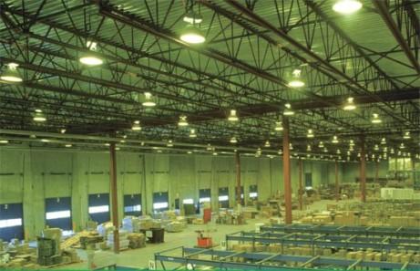 Управление освещением в промышленном помещении