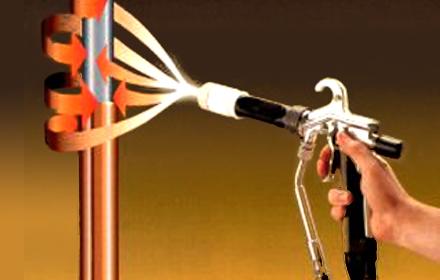 Метод электростатической окраски