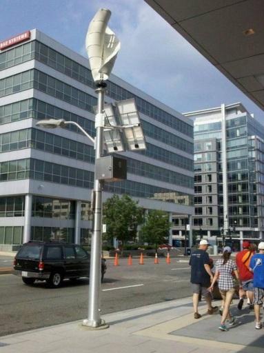 Уличное освещение с автономным питанием