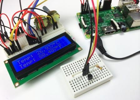 Применение интегральных датчиков температуры с микроконтроллером
