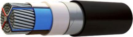 бронированный кабель с ПВХ-изоляцией