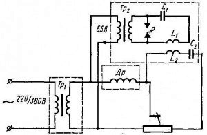 Сварочный осциллятор