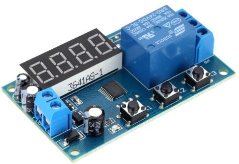 Реле времени на микроконтроллере