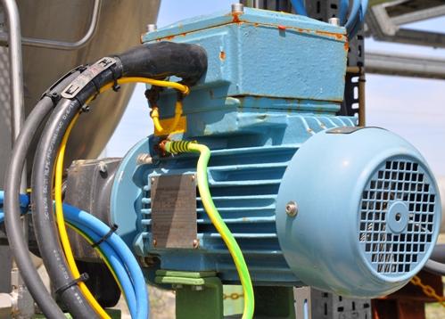 Взрывозащищенный электродвигатель ABB