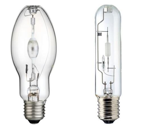 Виды металлогалогенных ламп