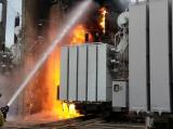Тушение пожара в электроустановках