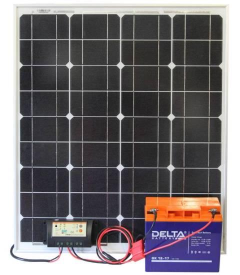 Устройство светильника на солнченых батареях