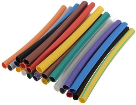 Цветные термоусаживаемые трубки