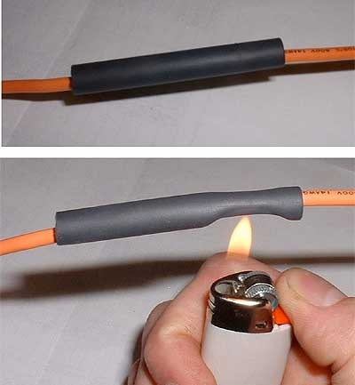Как действует термоусаживаемая трубка