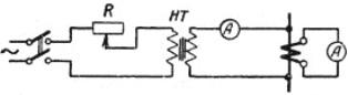 Определение коэффициента трансформации трансформатора тока