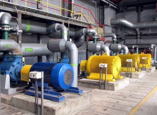 Двигатели насосной станции