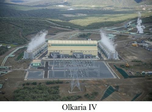 Olkaria IV в Кении