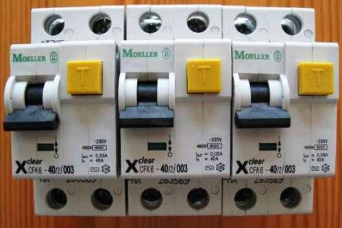 Защитное отключение в электроустановках