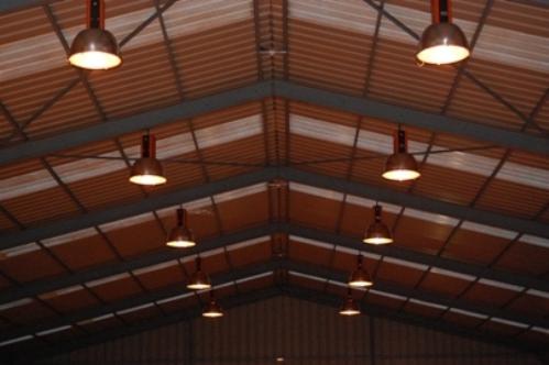 Освещение промышленного помещения