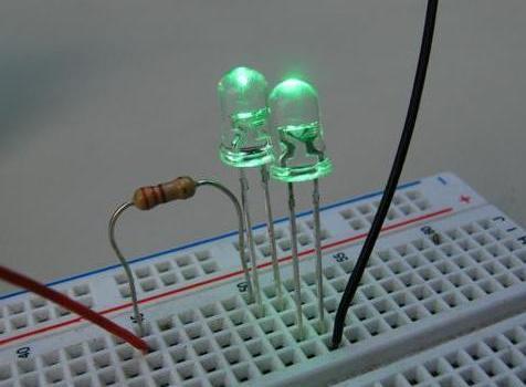 Светодиоды в электронной схеме