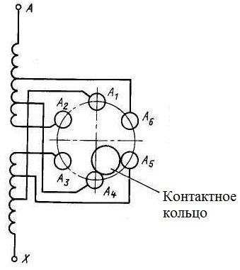 Регулирование напряжения трансформатора