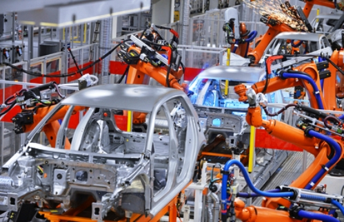 Промышленные роботы в современном производстве