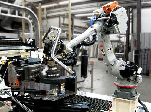 Роботизированная гибка труб