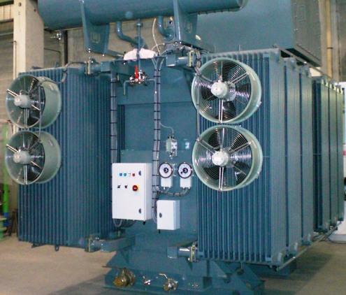 Охлаждение силового трансформатора