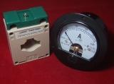 Трансформатор тока и амперметр