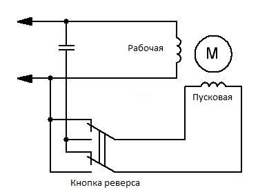 Схема однофазного конденсаторного двигателя фото 632