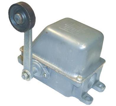 Конструкция конечного выключателя КУ-701А
