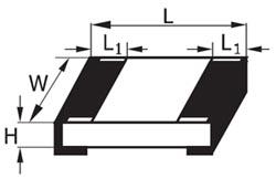 Типовые размеры SMD-резисторов