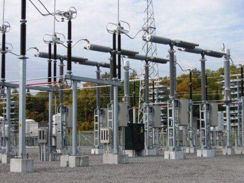 Трансформаторная подстанция с высоковольтными выключателями