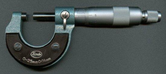 Микрометр - популярный мерительный инструмент