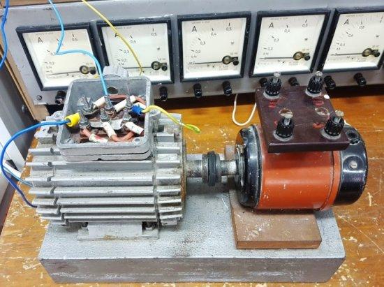Определение коэффициента мощности методом трех вольтметров