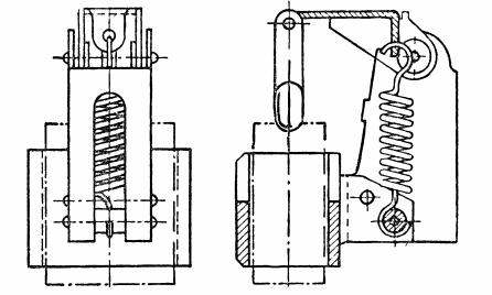 Щеткодержатель для машин постоянного тока малой и средней мощности
