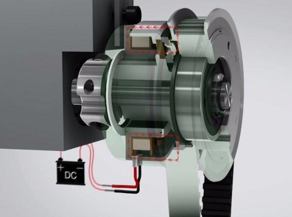 Устройство и принцип действия электромагнитной муфты