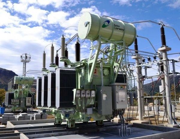 Трансформаторная подстанция с параллельно работающими трансформаторами