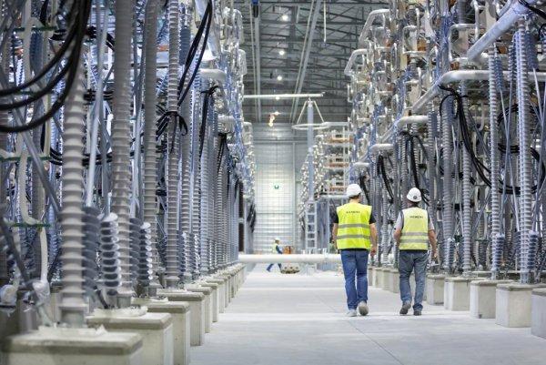Преобразовательная подстанция Siemens для линии передачи постоянного тока высокого напряжения (HVDC)