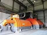 Синхронный генератор большой мощности на электростанции